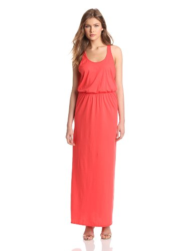 Michael Stars Women's Jersey Knit Racer Back Maxi Dress, Julius, One Size