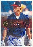 Jim Chamblee Pawtucket Red Sox - Red Sox Affiliate 2000 Just Autographed Hand Signed... by Hall of Fame Memorabilia
