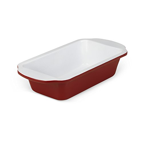 Bialetti Aeternum Red 7313 Loaf Pan Sheet, 9-Inch X 5-Inch