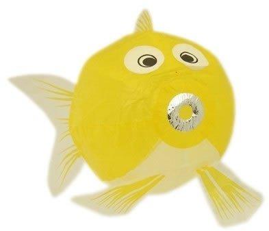 Petra Boase Japanese Paper Balloon - Yellow Fish front-593435
