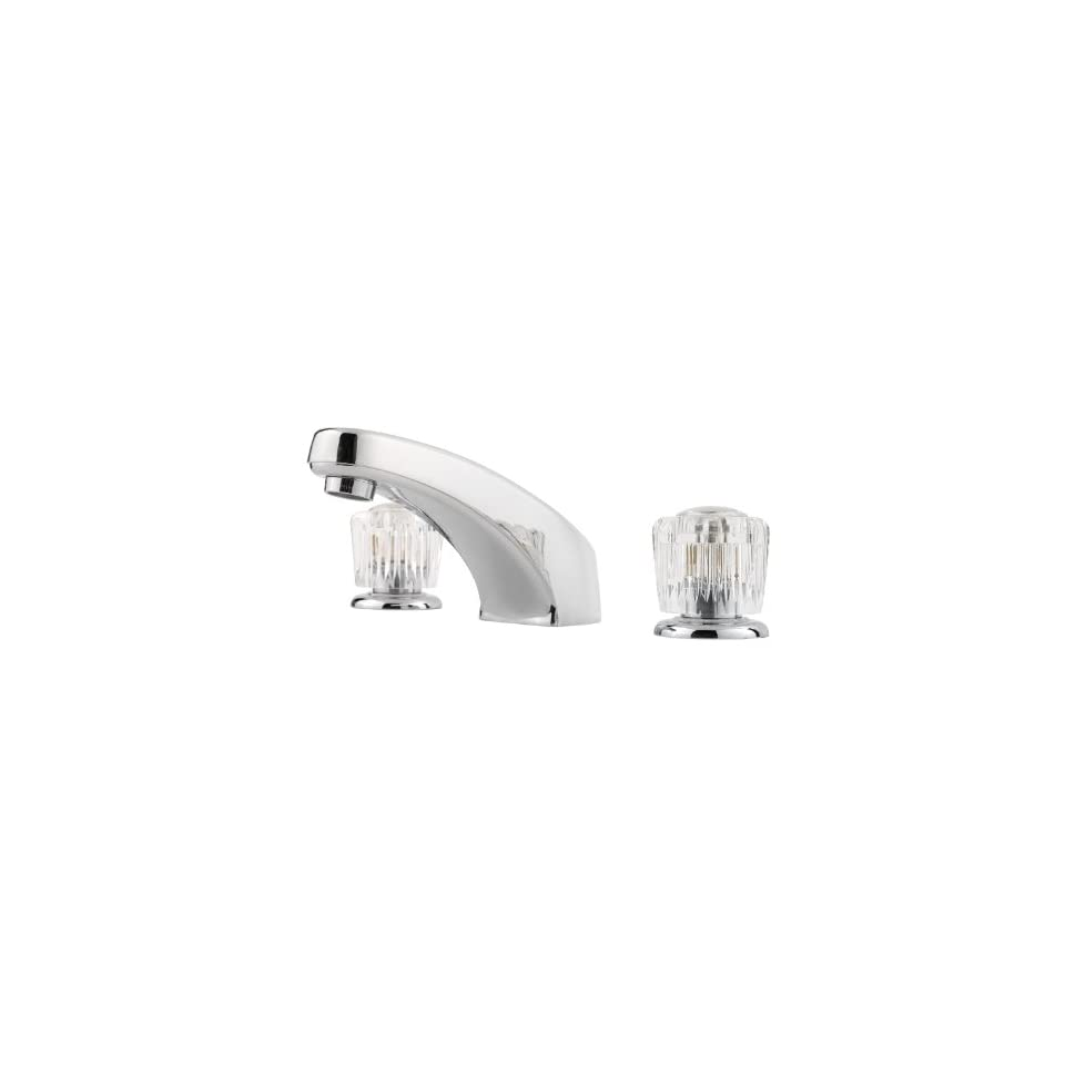 Pfister G149 6002 Pfirst Series 8 Inch Widespread Bathroom Faucet, Polished Chrome