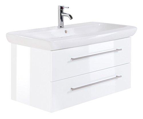 Bathroom Cabinet Keramag IT! 100 cm White High-Gloss