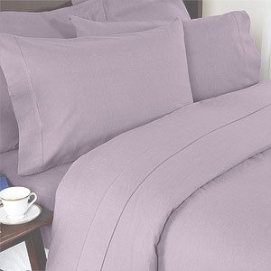 Solid Lilac 300 Thread Count Full/Queen Duvet