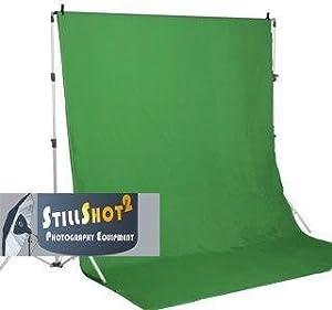 10x13 Chromakey Green Screen Muslin Photo Video