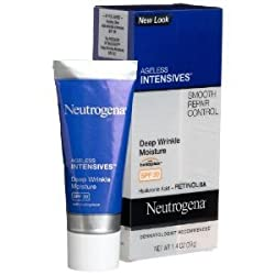 Neutrogena Ageless Intensives Deep Wrinkle Moisture SPF 20 1.4 Ounce (Pack of 2)