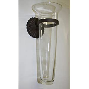 Amazon.com: Glass Sconce Wall Vase: Home Improvement