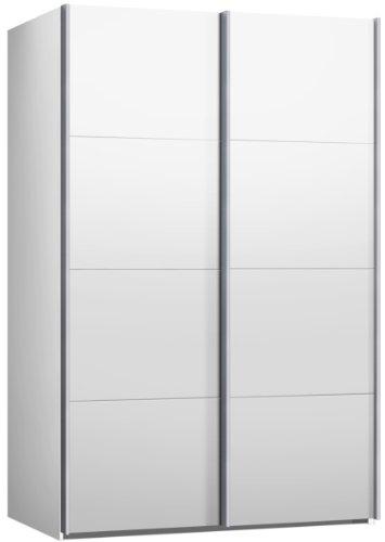 Schwebetrenschrank-Kleiderschrank-ca-150-cm-Weiss-Schiebetrenschrank
