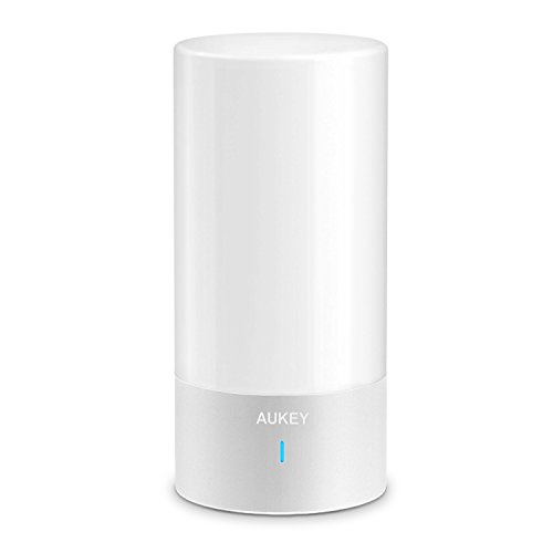 AUKEY Table Lamp, Touch Sensor Bedside Lamp + Dimmable Warm White Light & Color Changing RGB (Lamp Touch Control Sensor compare prices)