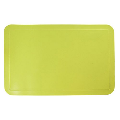 West5Products Childrens Large Bright Green Plasticated Placemat