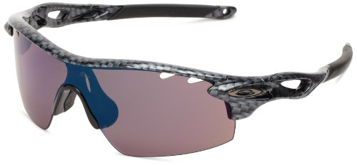 b83ee04eefe Oakley mens Radarlock OO9182-13 Polarized Sport SunglassesCarbon Fiber55 mm