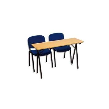 3 table formation s minaire h tre pietement pietement for Bureau 4 places