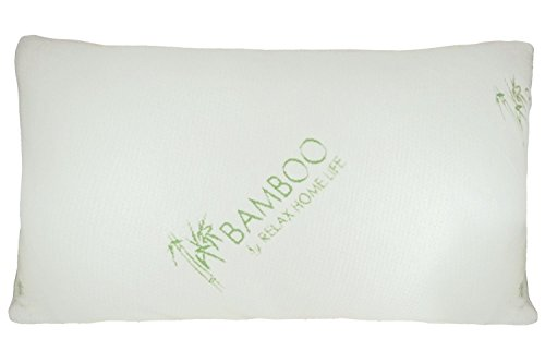 Bamboo By Relax Home Life - Bamboo Pillow With Shredded Down Alternative and Stay Cool Cover (King) (How Many Days Is Standard Shipping)