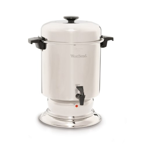 West Bend 55 Cup Commercial Stainless Steel Coffeemaker Best Deals