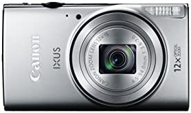 Canon IXUS 275 HS Compact Digital Camera - Silver (20.2 MP, 12x Optical Zoom, 24x ZoomPlus, Wi-Fi, NFC) 3-Inch LCD