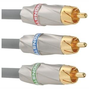New Monster Cable Mc 500cv-1m Component Video 500 High-Performance Video Cables Durability
