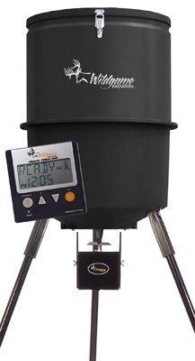 Wgi Innovations/Ba Products W225D Tri-Pod Digital Feeder, 225-Lb. Poly Barrel, 30-Gals.
