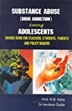 img - for Substance Abuse (Drug Addiction) Among Adolescents (HB) book / textbook / text book