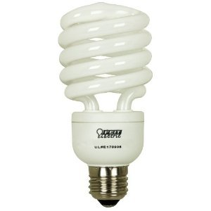 Daylight Dimmable Twist Compact Fluorescent Light Bulb by FeitElectric