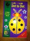 Buki Activity Book 1-25 & 1-50 DOT TO DOT (B1101) - 1