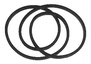 Lawn Mower Deck Drive Belt Replaces,Mtd 754-0349