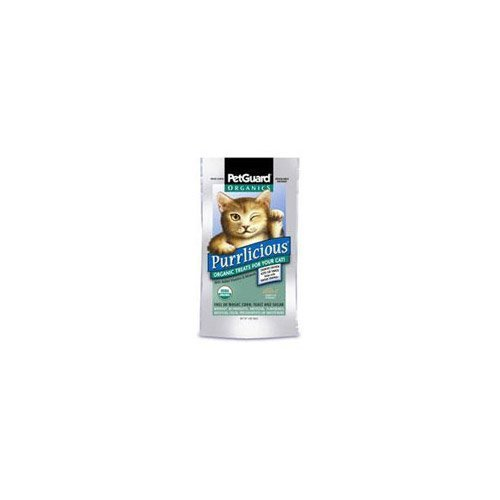 PetGuard Purrlicious Organic Cat Treats - 3ozB0000BXJO8