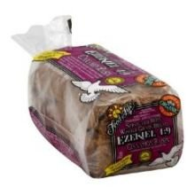 Food For Life Baking Organic Cinnamon Raisin Sprouted 7 Whole Grain Bread, 24 Ounce -- 6 per case.