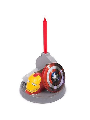 Avengers Birthday Candle (Each) - 1