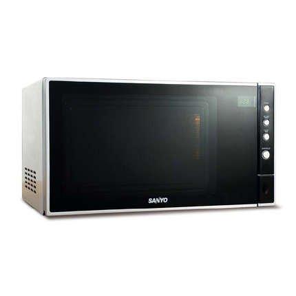 Sanyo EM-S3597V 23 litre 900 watt Solo Microwave Oven, Silver