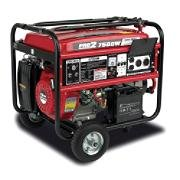 GG7500-C – Gentron 6000w rated, 7500w peak portable gas-powered generator – 4862