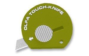 Olfa Touch Knife Tk-4O Model 1083065 Olive Green