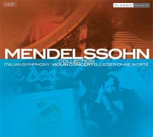 Symphonie Italienne, Concerto Pour Violon, Lieder Ohne Worte