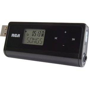RCA TH1814 4 GB MP3 PLAYER WITH FLIP-OUT USB & DISPLAY