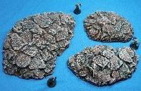 Rubble Hill Set Badlands Brown 28mm Miniature Terain