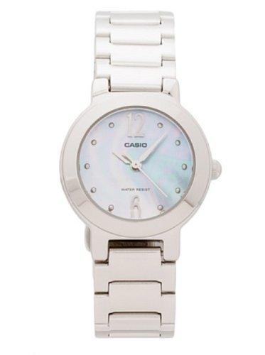 CASIO Collection LTP-1282D-2AEF - Reloj de mujer de cuarzo, correa de acero inoxidable