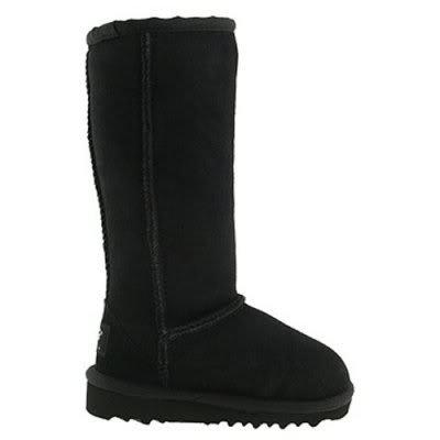 UGG Australia Classic Tall Girls Boots 2.0 Black