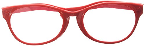 Red Jumbo Glasses - 1