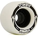 Landyachtz Zombie Hawgs 76mm Freeride Longboard Wheels (Set of 4)