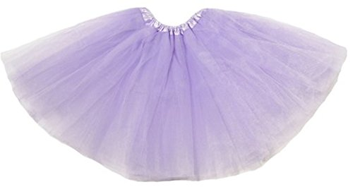 Jianyana Girls Tulle Ballet 3-layered Tutu Skirt Fairy Princess Costume/ballerina