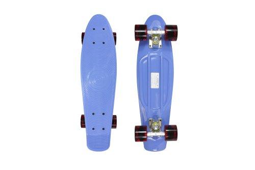 Stereo Vinyl Cruiser Skateboard - Blue