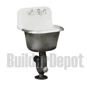 KOHLER K 6716 0 Bannon Service Sink, White   Utility Sinks   Amazon .