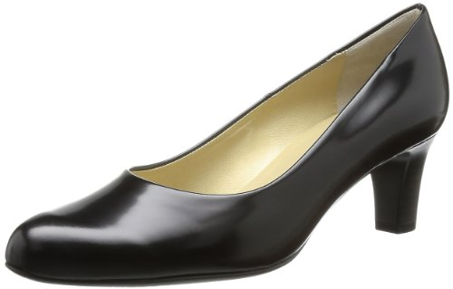 Peter Kaiser NIKA Pumps Womens Black Schwarz (schwarz Soft) Size: 39.5