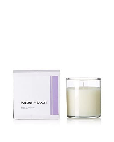 Bluewick Candles 12-Oz. White Violet & Cassis Jasper + Boon Boxed Candle