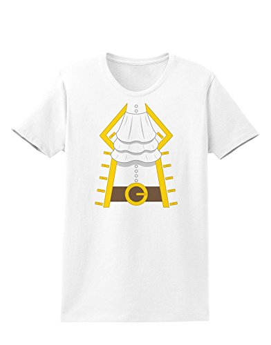 Pirate Captain Costume Gold Womens T-Shirt