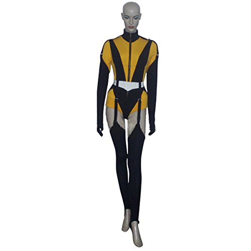 [MLYX Women's Watchmen Silk Spectre II Laurie Juspeczyk Cosplay Costume Women's Jumpsuits (Large)] (The Watchmen Silk Spectre Costume)