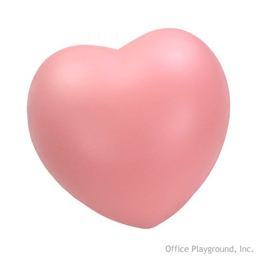 Heart Stress Toy - Pink - 1