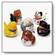 Dog Rubber Duckys
