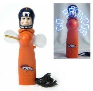 Denver Broncos Light Up Personal Handheld Fan