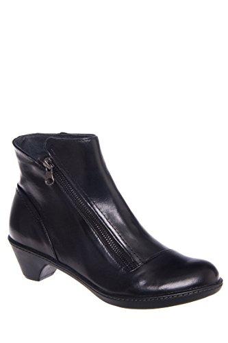 Billie Burnished Low Heel Comfort Boot