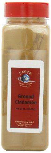 Taste Specialty Foods, Ground Cinnamon, 16-Ounce Jars (Pack of 2)