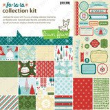 Lawn Fawn Fa La La Collection Kit